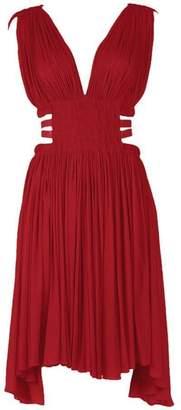 Alaia Grecian Mini Dress