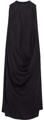 Rick Owens Silk And Wool-Blend Dress