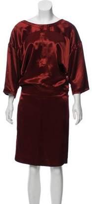 Reed Krakoff Midi Dolman Sleeve Dress
