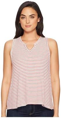 Three Dots Hyannis Stripe Tank Top Women's Sleeveless