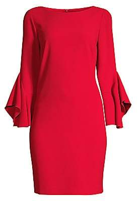 Elie Tahari Women's Dori Drape-Sleeve Sheath Dress - Size 0