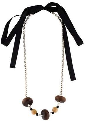 marni co necklace petal buy jewellery for accessories fashiola leather floral necklaces online compare uk women