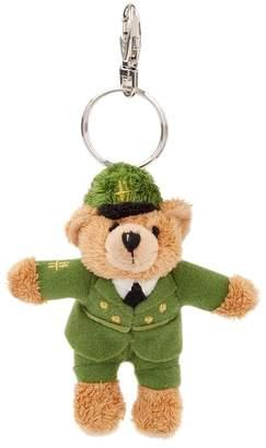 Harrods Green Man Bear Keyring
