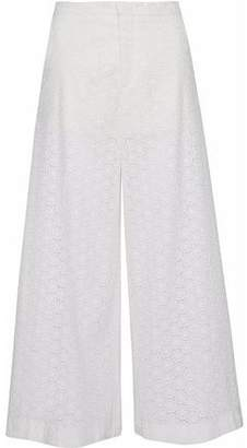 RED Valentino Broderie Anglaise Cotton Culottes