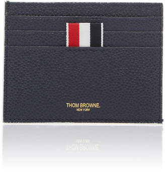 Thom Browne Pebble Grain Leather Card Case