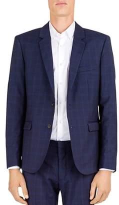 The Kooples Hidden Lines Wool Slim Fit Sport Coat