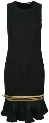 Roberto Cavalli zipped peplum hem dress