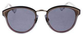 Christian Dior Round Mirrored Sunglasses