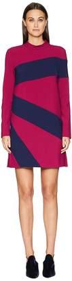 Nicole Miller Color Blocked Dress Women's Dress