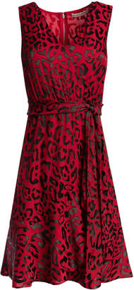 Alice + Olivia BROOKS FIT AND FLARE DRESS
