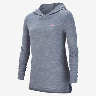 Nike Dri-FIT Big Kids' (Girls') Long Sleeve Training Top