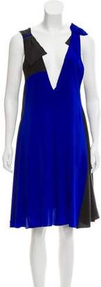 Sonia Rykiel Sonia by Silk Sleeveless Dress