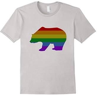 Gay Bear Rainbow T-shirt for Funny Gay Pride Shirt