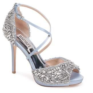 Badgley Mischka Hyper Crystal Embellished Sandal