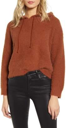 MinkPink Fluffy Hooded Sweater
