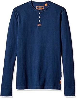 Superdry Men's Men's Heritage Grandad Long Sleeve TOP