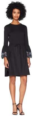 See by Chloe Lace Trim T-Shirt Dress Women's Dress