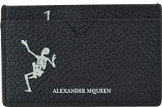 Alexander McQueen Dancing Skull Cards Holder