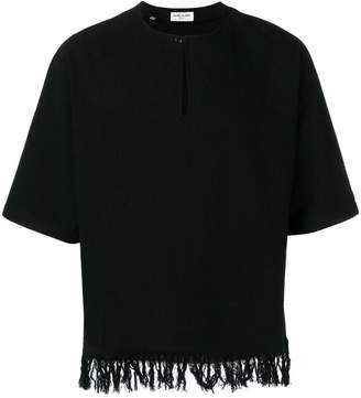 Saint Laurent fringed tunic