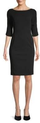 Calvin Klein Back-Zip Shift Dress