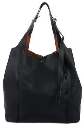 Nina Ricci Leather Faust Tote Bag