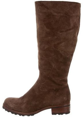UGG Australia Suede Mid-Calf Boots $95 thestylecure.com