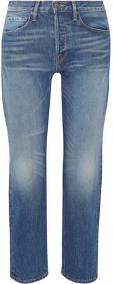 Frame Rigid Re-release Le Original High-rise Straight-leg Jeans - Mid denim