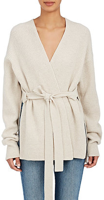 Helmut Lang Women's Cashmere Cardigan Sweater $495 thestylecure.com