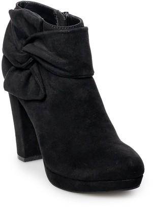 Lauren Conrad Eclair Women's High Heel Ankle Boots