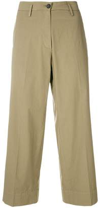 Barena cropped wide leg trousers
