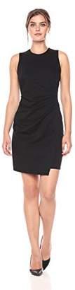 Lark & Ro Amazon Brand Women's Sleeveless Sheath Dress with Side Pleat