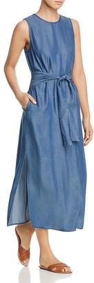 Velvet Heart Sleeveless Chambray Maxi Dress