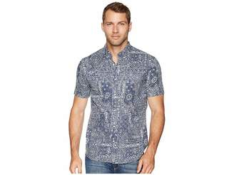 Reyn Spooner Aloha Bandana Tailored Fit Hawaiian Shirt Men's Short Sleeve Button Up