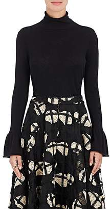 Co Women's Cashmere Bell Cuff Sweater $575 thestylecure.com