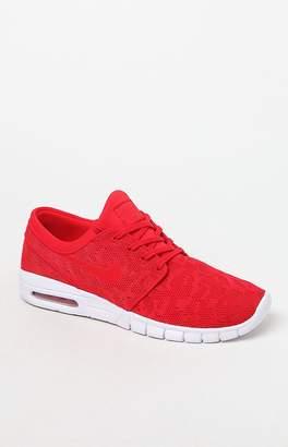 Nike SB Stefan Janoski Max Red Shoes
