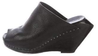 Rick Owens Wedge Slide Sandals