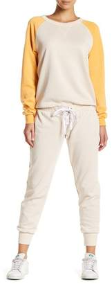 The Laundry Room Grommet Lace-Up Jogger Pants