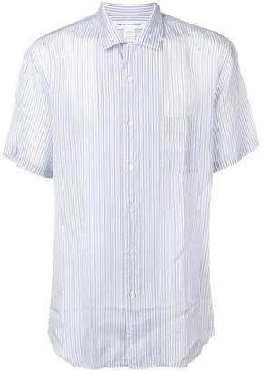 Comme des Garcons short-sleeve striped shirt