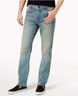 American Rag Men's Straight-Fit Stretch Jeans