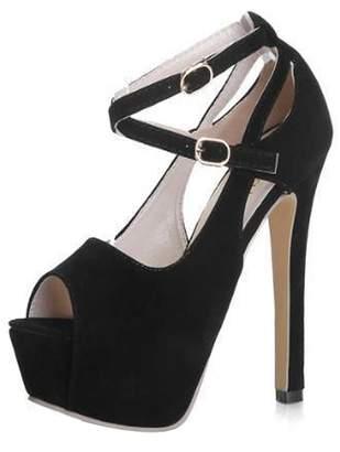 d673ae59e8cef ... Flower Wedge Flip Flops Thick Bottom Platform  at Amazon Canada ·  Gaorui Women Girl Peep Toe Ankle Strap Stiletto Shoes High Heel Platform ...