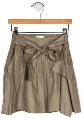 Chloé Girls' Pleated Mini Skirt