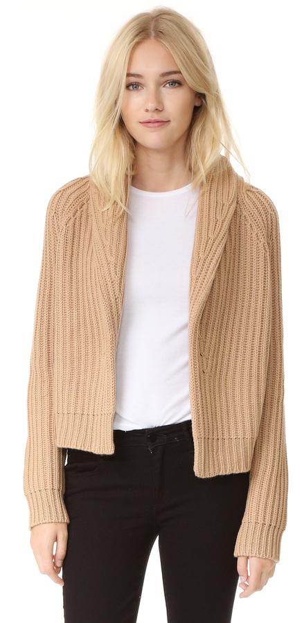 Vince Crop Cardigan Sweater