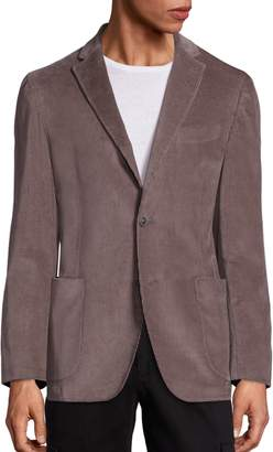 Saks Fifth Avenue Garment Washed Cord Jacket