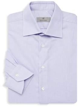 Canali Micro Dogbone Dress Shirt