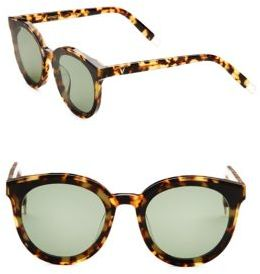 Gentle Monster Black Peter 55MM Cat Eye Sunglasses $249 thestylecure.com