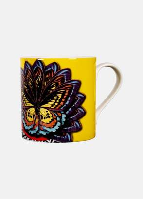 Mary Katrantzou Ornithopter Mug Yellow