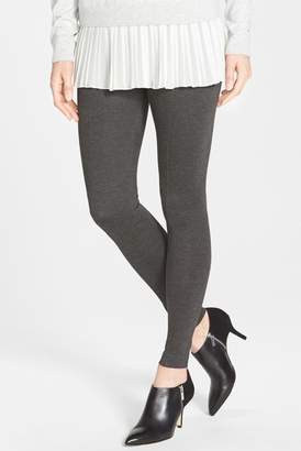 Lysse Seamed Ponte Knit Control Top Leggings