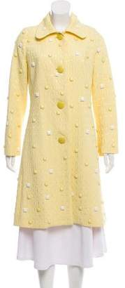 Chloé Beaded Knee-Length Coat