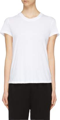 James Perse Garment dyed cropped T-shirt