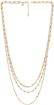 Rebecca Minkoff Multi Strand Beaded Necklace
